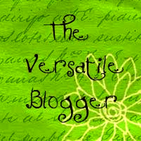 My second Versatile Blogger Award. Received April 2013
